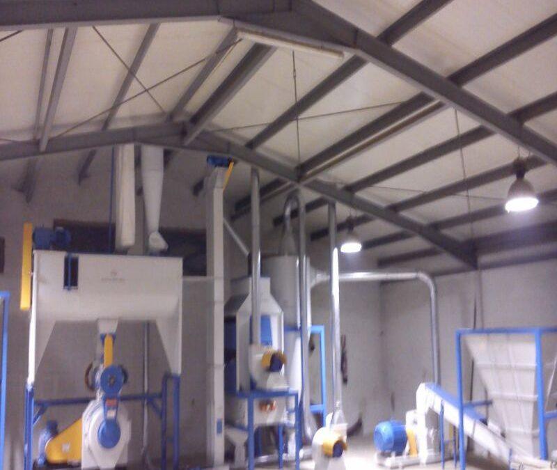 Planta produccion pellets Alicante